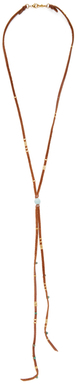 Chan Luu Leather Lariat Necklace