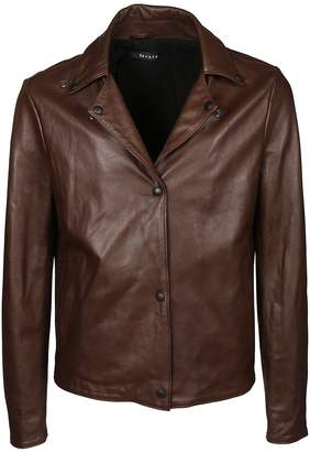 Dacute Classic Leather Jacket