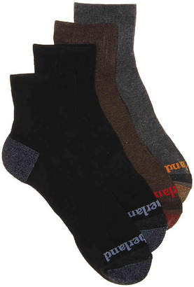 Timberland Cushioned Ankle Socks - 4 Pack - Men's