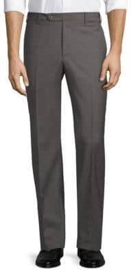 Zanella Devon Straight-Fit Wool Trousers