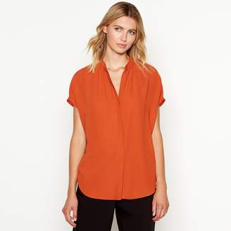 J by Jasper Conran Tan Short Sleeve Shirt