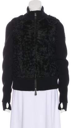Moncler Wool Bomber Jacket