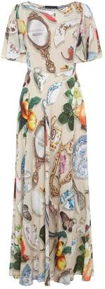 Moschino Patterned Midi Dress