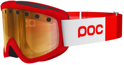 POC Goggles Iris Stripes Red