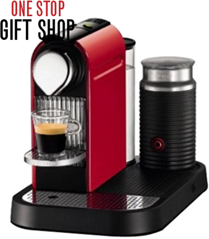 Nespresso CitiZ Coffee Maker with Milk Frother