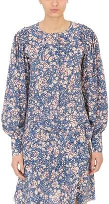 Isabel Marant Berny Flowers Silk Blouse