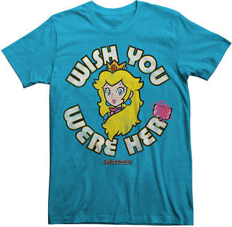Novelty T-Shirts Princess Peach Graphic Tee