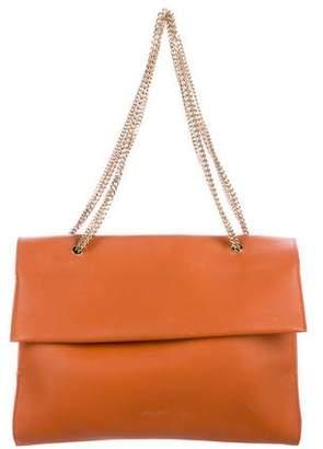 Nina Ricci Mado Grained Leather Shoulder Bag