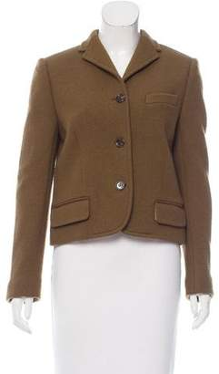 Chloé Cropped Wool Jacket