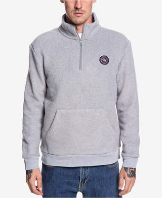 Quiksilver Men's Quarter-Zip Fleece Pullover
