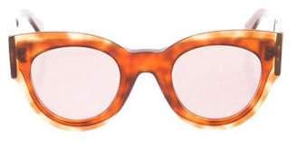 Celine Petra Tortoiseshell Sunglasses
