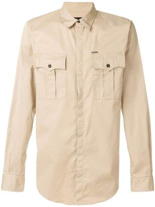 DSQUARED2 pocket detail shirt