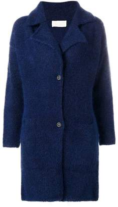 Chiara Bertani wide lapel cardi-coat