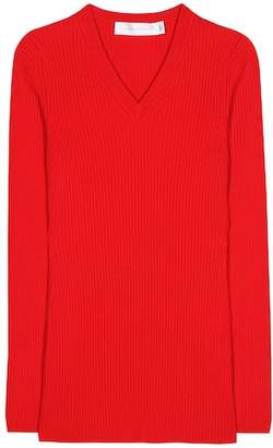 Victoria Beckham Ribbed wool sweater