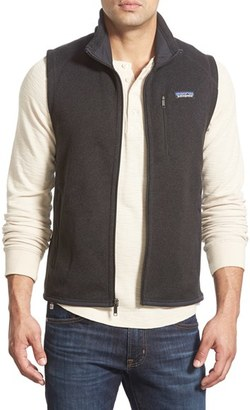 Men's Patagonia 'Better Sweater' Zip Front Vest $99 thestylecure.com