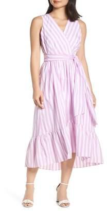 J.Crew J. Crew Stripe Cotton Poplin Dress