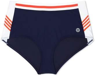 Tory SportTory Burch BANDED HIGH-WAIST BIKINI BOTTOM
