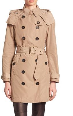 Burberry Balmoral Trench Coat $795 thestylecure.com