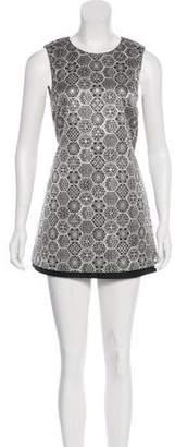 Gucci Metallic Mini Dress