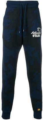 Atlantic Stars camouflage print track pants