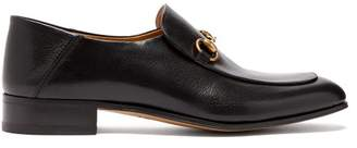 Gucci Mister New Horsebit Leather Loafers - Mens - Black