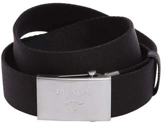 Prada 35mm Nylon Webbing Belt