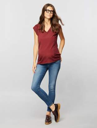 AG Jeans Pea Collection Secret Fit Belly Legging Ankle Maternity Jeans