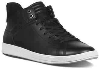 Joe's Jeans Joe Z Mid Top Leather Sneaker