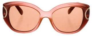 Salvatore Ferragamo Cat-Eye Tinted Sunglasses w/ Tags