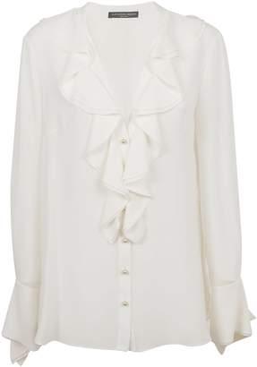 Alexander McQueen Ruffle Collar Shirt