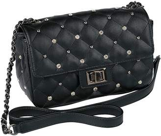 Heine Quilted & Studded Shoulder Bag