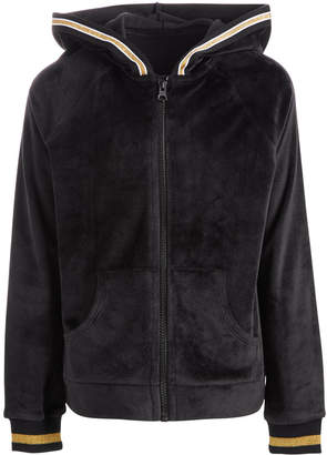 Macy's Ideology Big Girls Plus Velour Zip-Up Hoodie, Created for