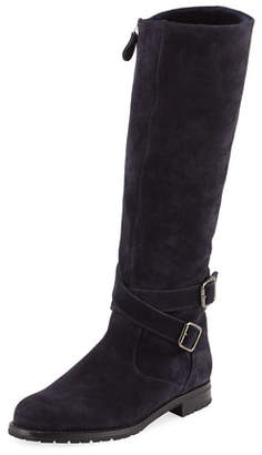 Manolo Blahnik Campocross Shearling Lined Lugsole Boot