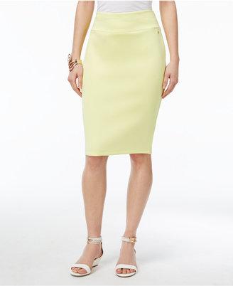 Thalia Sodi Scuba Pencil Skirt, Only at Macy's $49.50 thestylecure.com