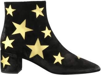 Saint Laurent Lou Star Wax Boot