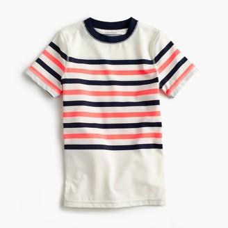 Boys' short-sleeve vintage stripe rash guard $45 thestylecure.com