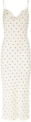 Shona Joy O'Dell Polka Dot Midi Dress