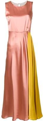 L'Autre Chose contrast panel dress
