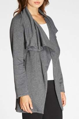 Bobeau Gray Fleece Jacket