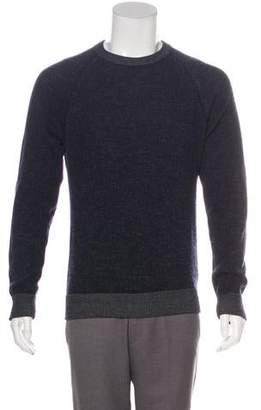 Theory Rib Knit Crew Neck Sweater