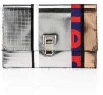 Proenza Schouler Small Metallic Leather Lunch Bag