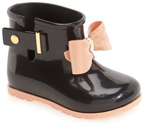 Toddler Girl's Mini Melissa 'Mini Sugar' Rain Boot $64.95 thestylecure.com