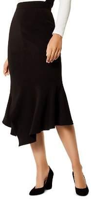 Karen Millen Asymmetric Trumpet Skirt