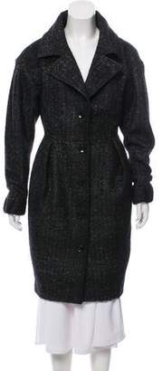 Viktor & Rolf Knee-Length Wool-Blend Coat