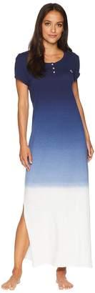 Lauren Ralph Lauren Maxi Gown with Knot Women's Pajama
