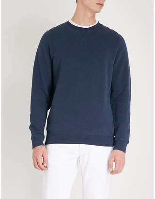 Sunspel Crewneck cotton-jersey sweatshirt