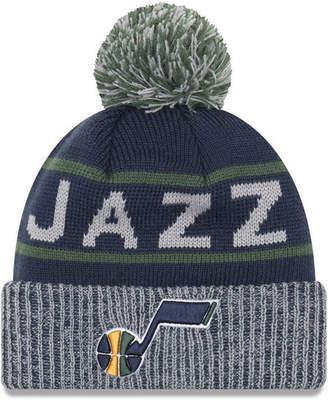 New Era Utah Jazz Court Force Pom Knit Hat