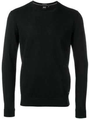 HUGO BOSS crew neck knit sweater
