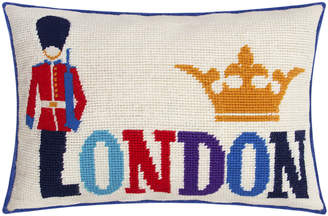 Jonathan Adler Jet Set London Cushion