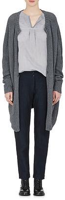 Pas de Calais Women's Mixed-Knit Cotton Long Cardigan $325 thestylecure.com
